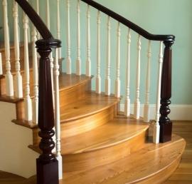 Деревянная балясина для лестниц из дуба