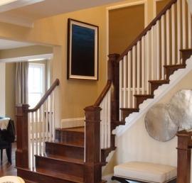 Балясина для лестниц из массива дуба
