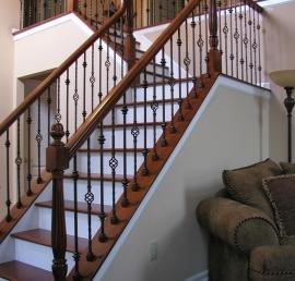 Балясина для лестниц из дуба
