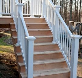 Балясина для лестниц из кедра