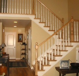 Кедровая балясина для лестниц