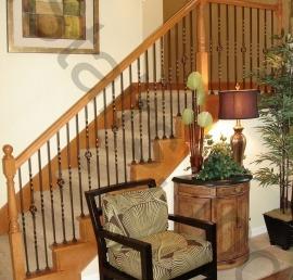 Балясина для лестниц из бука