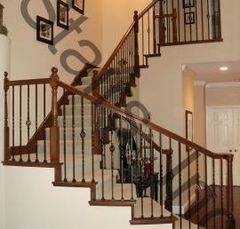 Балясина для лестниц из массива бука