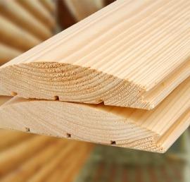 Блок-Хаус из дерева ясеня