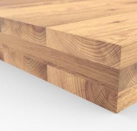 Деревянный брус из дерева ореха
