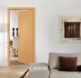 Входные деревянные двери из бука