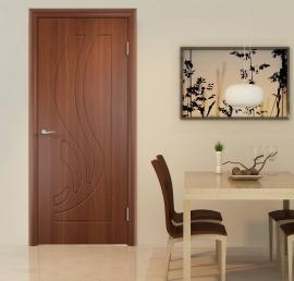 Деревянные двери из дерева ореха