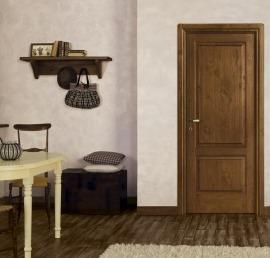 Межкомнатные двери из дерева ореха