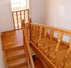 Тетива для лестниц из лиственницы