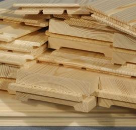Евровагонка деревянная из липы