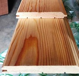 Имитация деревянного дубового бруса
