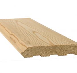 Имитация деревянного липового бруса