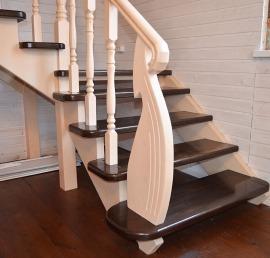 Сосновые лестницы
