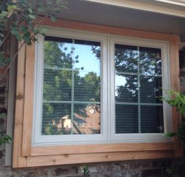 Деревянные окна из кедра