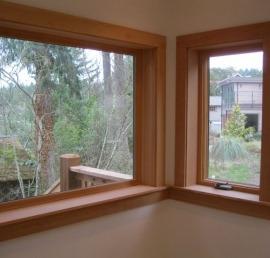 Сосновые окна