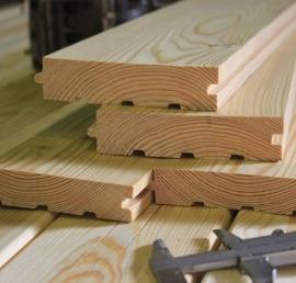 Деревянная палубная доска из ореха