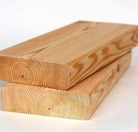 Палубная доска из дерева дуба