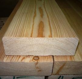 Деревянная палубная доска из липы