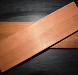 Полок для бани из дерева ореха