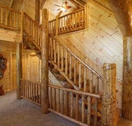 Поручни для лестниц из кедра