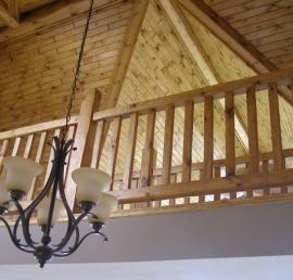 Поручни для лестниц из сосны