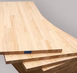 Деревянный мебельный щит из сосны