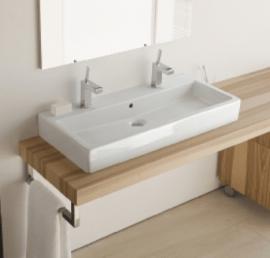 Столешницы из массива дерева для ванной