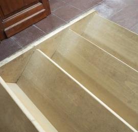 Буковые ступени для лестниц