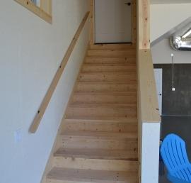 Для лестниц лиственничные ступени