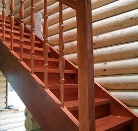 Деревянная Тетива для лестниц из дуба