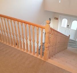Тетива для лестниц из ели