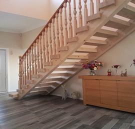 Тетива для лестниц из массива ели