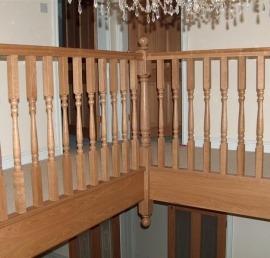 Деревянная Тетива для лестниц из ели