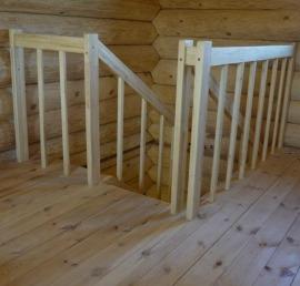 Деревянная Тетива для лестниц из сосны