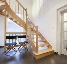 Тетива для лестниц из массива сосны