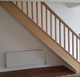 Тетива для лестниц из бука