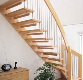 Деревянная Тетива для лестниц из бука