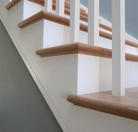 Тетива для лестниц из массива липы