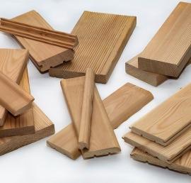 Деревянные уголки из кедра
