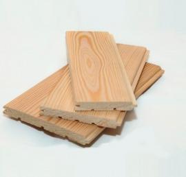 Вагонка-штиль из дерева ореха