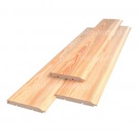 Деревянная Вагонка-штиль из дерева ореха