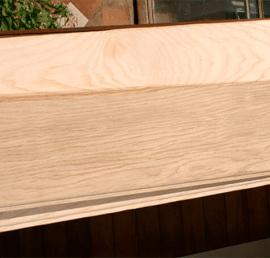 Деревянная Вагонка-штиль из ясеня