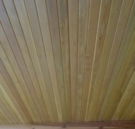 Вагонка-штиль из лиственницы